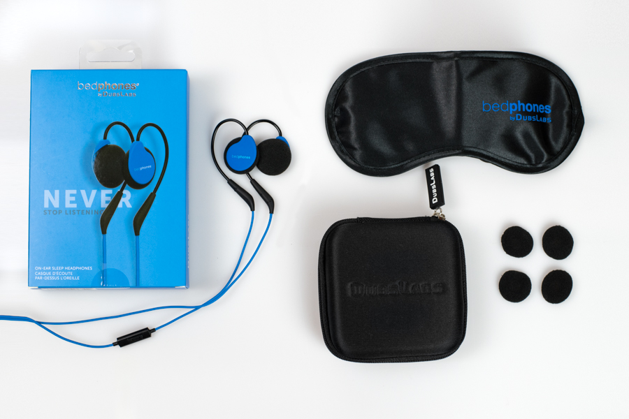 What's in the box when you buy Bedphones Sleep Headphones Gen. 3.5