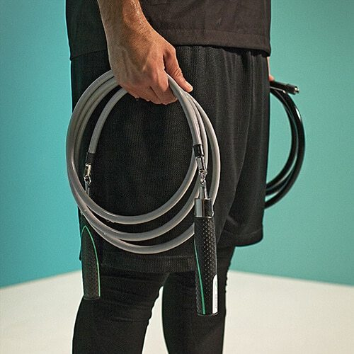 Exercise at home with Jump Ropes