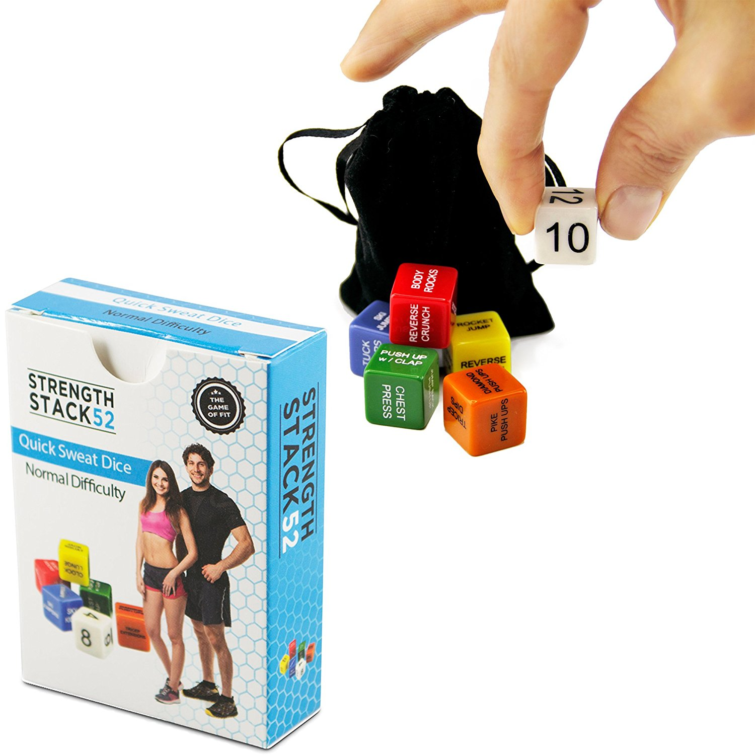 Fitness Dice by Stack 52