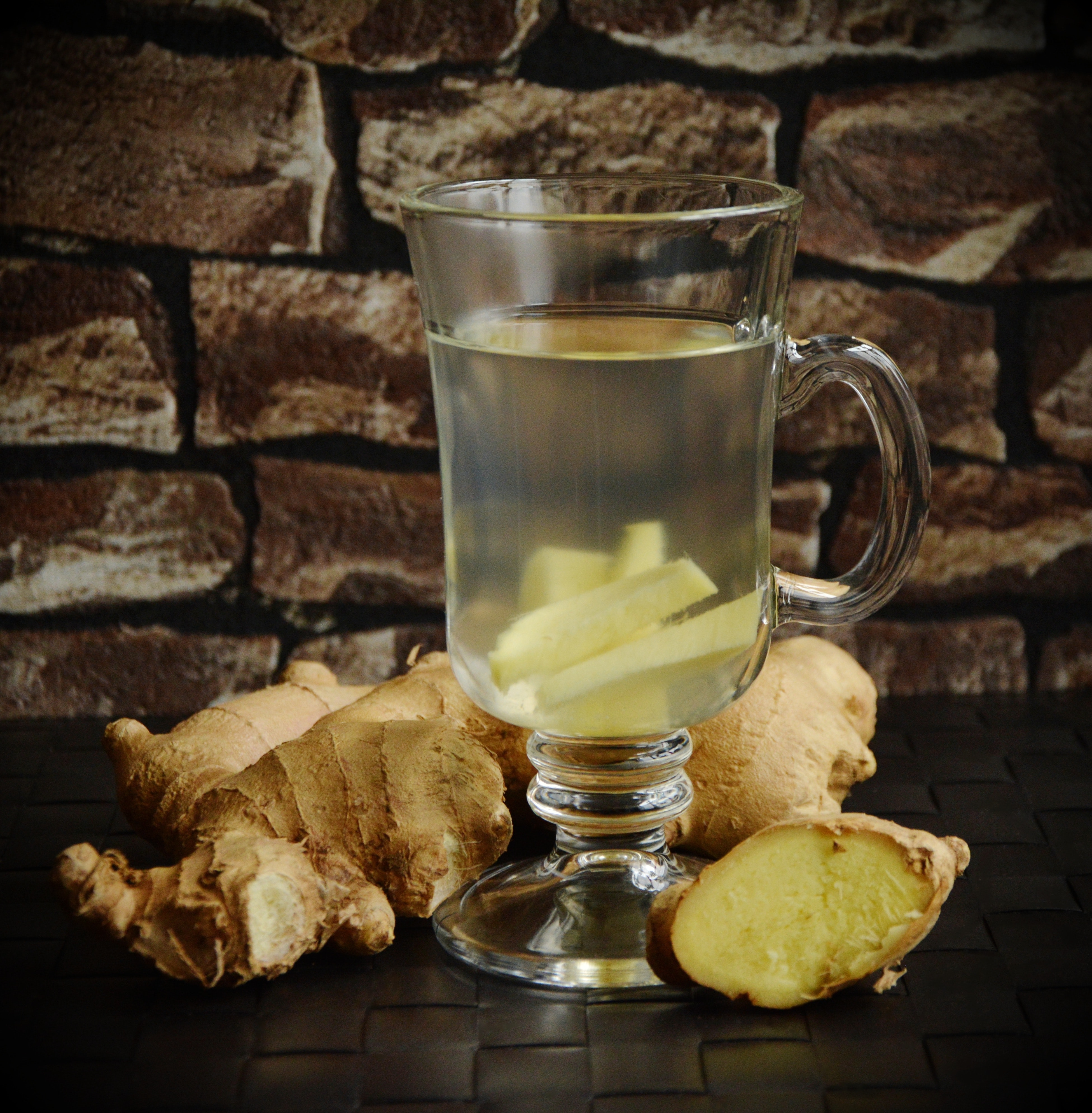A Cup of Ginger Tea for Digestion