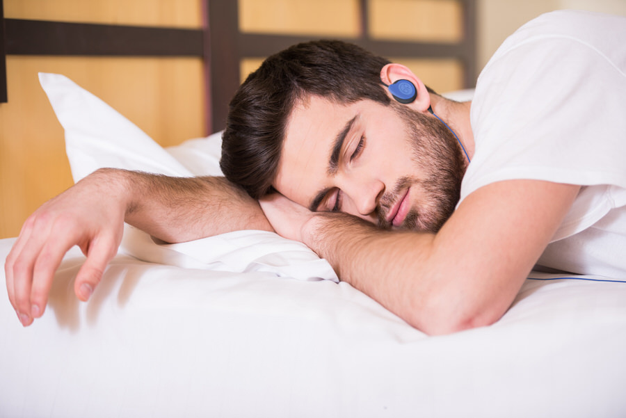 Bedphones Wireless leave the phone